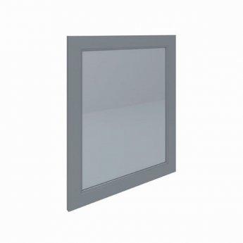 RAK Washington Framed Bathroom Mirror - 650mm H x 585mm W - Grey