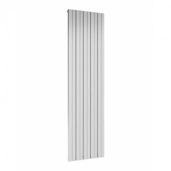 Reina Bova Single Vertical Aluminium Radiator 1800mm H x 470mm W White