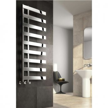 Reina Capelli Heated Towel Rail 800mm H x 500mm W Polished Stainless Steel
