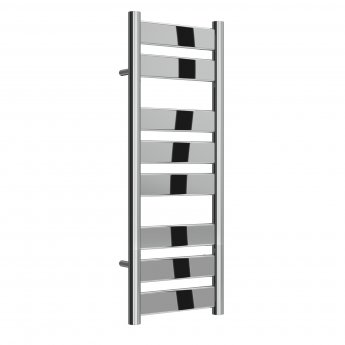 Reina Carpi Flat Panel Heated Towel Rail 800mm H x 300mm W Chrome