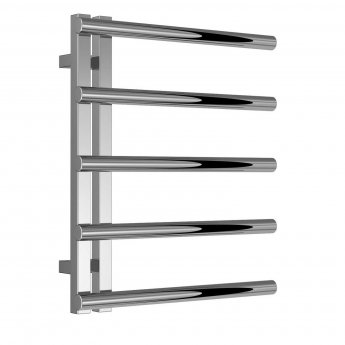Reina Celico Designer Towel Rail 592mm H x 500mm W Polished Stainless Steel