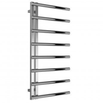 Reina Celico Designer Towel Rail 1000mm H x 500mm W Polished Stainless Steel