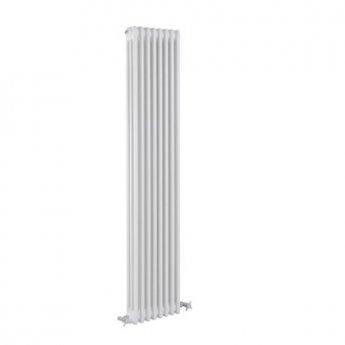 Reina Colona 3 Column Vertical Radiator 1800mm H x 290mm W - White