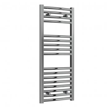 Reina Diva Electric Curved Heated Towel Rail 1000mm H x 400mm W Chrome