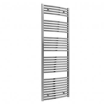 Reina Diva Thermostatic Electric Curved Heated Towel Rail 1600mm H x 600mm W Chrome