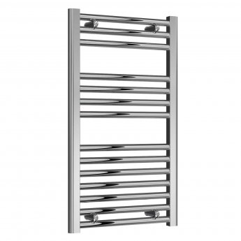 Reina Diva Thermostatic Electric Straight Heated Towel Rail 800mm H x 450mm W Chrome