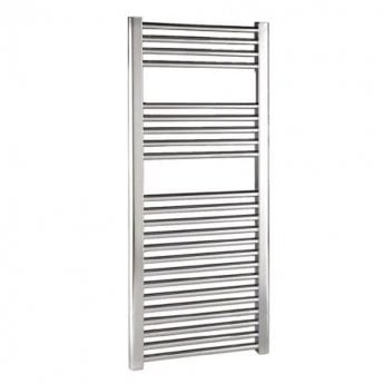 Reina Diva Thermostatic Electric Straight Heated Towel Rail 800mm H x 750mm W Chrome