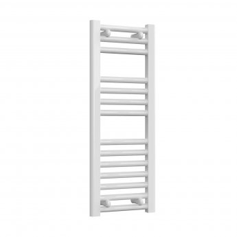 Reina Diva Thermostatic Electric Straight Heated Towel Rail 800mm H x 300mm W White