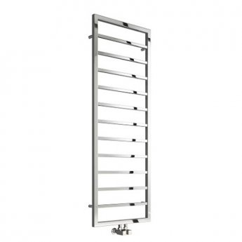 Reina Egna Heated Towel Rail 775mm H x 500mm W Polished Stainless Steel