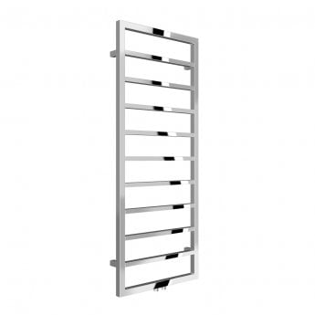Reina Egna Heated Towel Rail 1255mm H x 500mm W Polished Stainless Steel