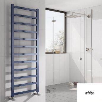Reina Fano Designer Heated Towel Rail 720mm H x 485mm W White