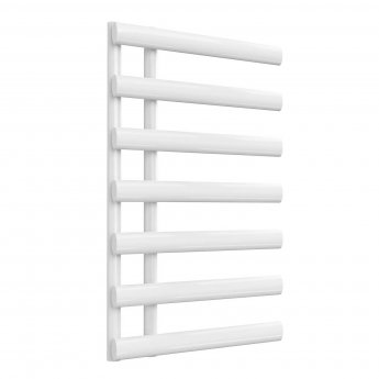 Reina Grace Designer Heated Towel Rail 780mm H x 500mm W White