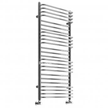 Reina Marco Designer Heated Towel Rail 1100mm H x 500mm W Chrome