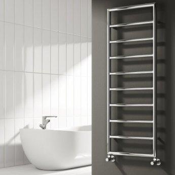 Reina Nardo Designer Heated Towel Rail 813mm H x 550mm W Chrome