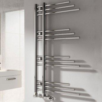 Reina Palmari Designer Heated Towel Rail 900mm H x 500mm W Chrome