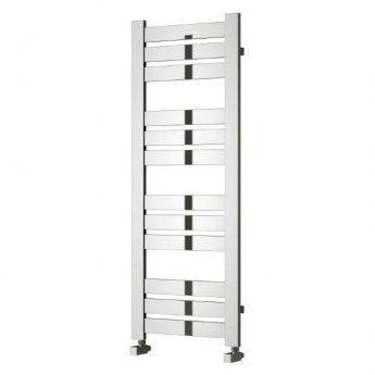 Reina Riva Flat Panel Heated Towel Rail 960mm H x 500mm W Chrome