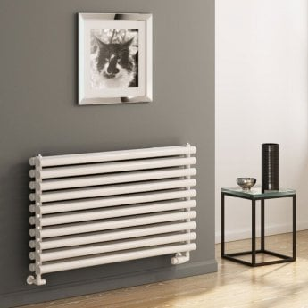 Reina Roda Single Designer Horizontal Radiator 590mm H x 1000mm W White