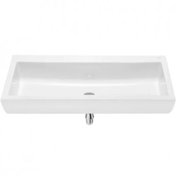 Roca Access Wall Hung Basin 1000mm W - 0 Tap Hole