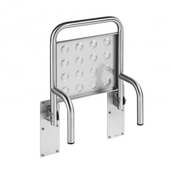 Roca Access Folding Shower Seat - Stainless Steel