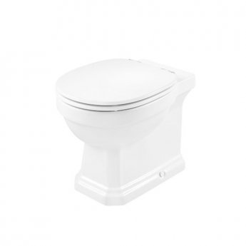 Roca Carmen Rimless Back to Wall Toilet 560mm Projection - Soft Close Seat