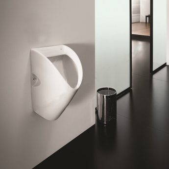 Roca Chic Concealed Washroom Urinal - White