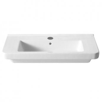 Roca Dama-N Wall Hung Basin, 850mm Wide, 1 Tap Hole