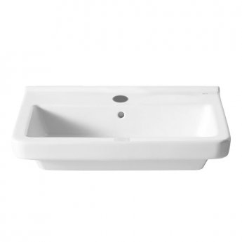 Roca Dama-N Wall Hung Basin, 650mm Wide, 1 Tap Hole