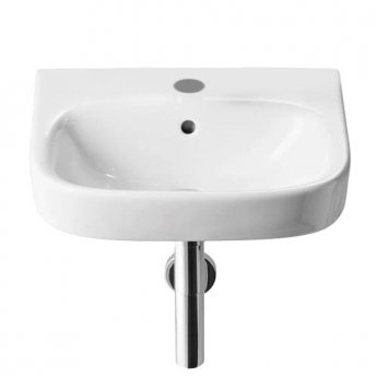 Roca Debba Wall Hung Basin 450mm Wide - 1 Tap Hole
