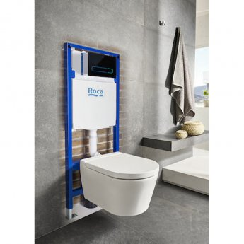 Roca Duplo Wall Hung Toilet Fixing Frame with Dual Flush Cistern