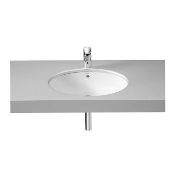 Roca Grand Berna Under Countertop Basin 620mm W - 0 Tap Hole