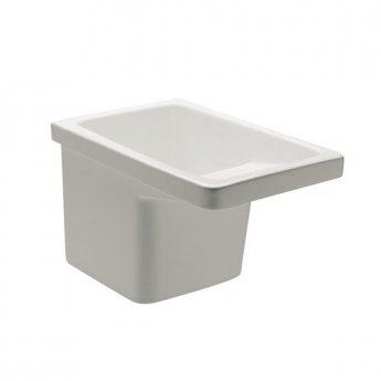 Roca Henares Laundry Sink 600mm L x 390mm W - White