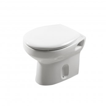 Roca Laura Back to Wall Toilet, 495mm Projection, Soft Close Seat