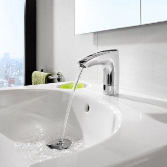 Roca M3-E Infra-Red Battery Operated Electronic Basin Mixer Tap - Chrome