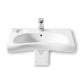 Roca Meridian-N Wall Hung Basin 700mm W - 1 Tap Hole