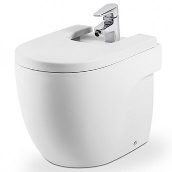 Roca Meridian-N Compact Bidet 520mm Projection - 1 Tap Hole