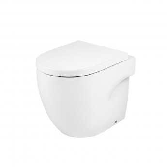 Roca Meridian-N Back to Wall Toilet WC 520mm Projection - Soft Close Seat