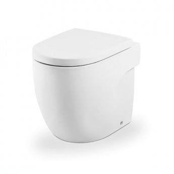 Roca Meridian-N Back to Wall Toilet WC 520mm Projection - Standard Seat