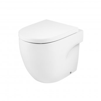Roca Meridian-N Back to Wall Toilet, 520mm Projection, Standard Seat