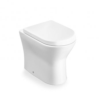 Roca Nexo Closed Coupled Toilet WC Push Button Cistern Soft Close Seat