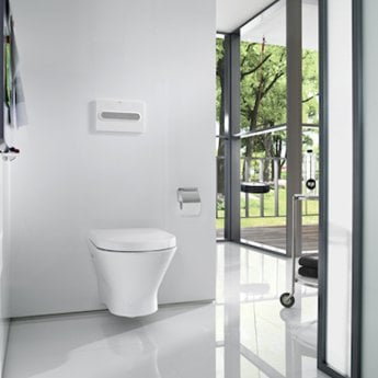 Roca Nexo Wall Hung Toilet WC 535mm Projection - Soft Close Seat