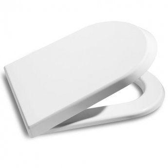Roca Nexo Rimless Wall Hung Toilet WC 530mm Projection - Soft Close Seat