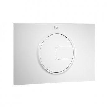 Roca PL4 Dual Toilet Flush Plate - Grey