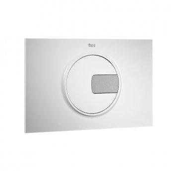 Roca PL4 Dual Flush Plate - Grey & White