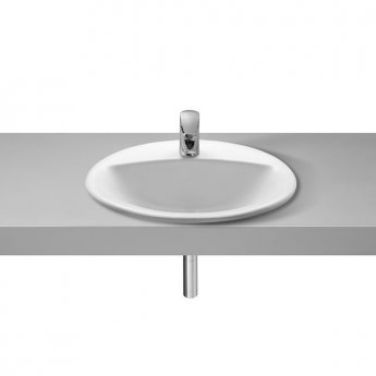 Roca Rodeo Inset Countertop Basin 520mm W - 1 Tap Hole