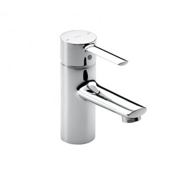 Roca Targa Basin Mixer Tap with Retractable Chain - Chrome
