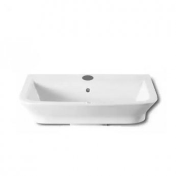 Roca The Gap Wall Hung Basin, 600mm Wide, 1 Tap Hole