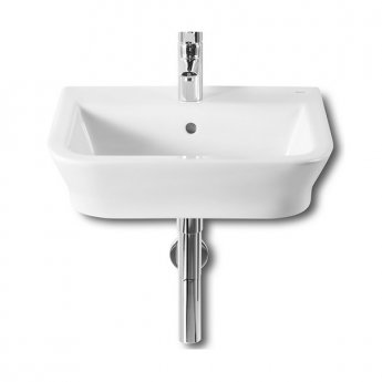 Roca The Gap Wall Hung Basin, 550mm Wide, 1 Tap Hole