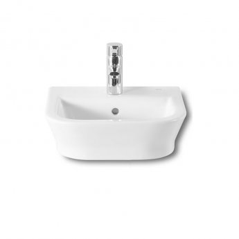 Roca The Gap Wall Hung Cloakroom Basin, 350mm Wide, 1 Tap Hole