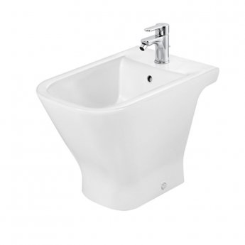 Roca The Gap Bidet with Standard Seat 560mm Projection - 1 Tap hole