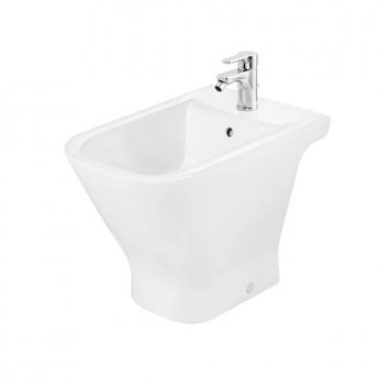 Roca The Gap Floorstanding Bidet - 1 Tap Hole White